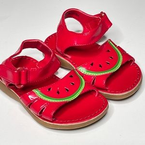 Gymboree Watermelon Faux Patent Summer Sandal